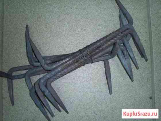 Скобы строительные для крепления бруса Каменка