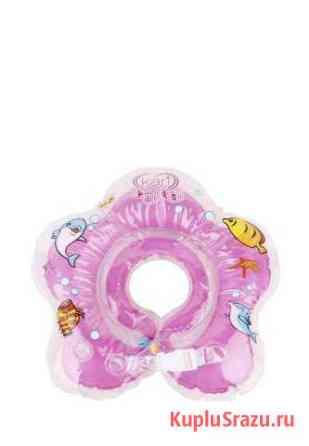Детский надувной круг на шею для купания Кызыл