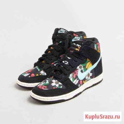 Новые кеды Nike Dunk Hi Aloha Москва