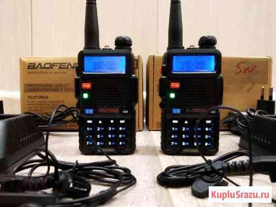 Комплект оригинальных радиостанций -Baofeng UV-5R Владивосток