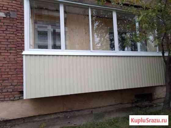 Остекление балконов, отделка любой сложности Улан-Удэ