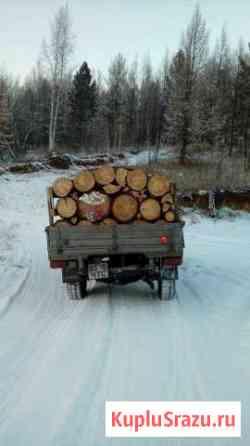 Дрова лиственные, отлёт (горбыль) пихта Горно-Алтайск