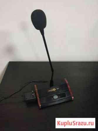Тромбон см-10 Микрофон настольный с подставкой Абакан