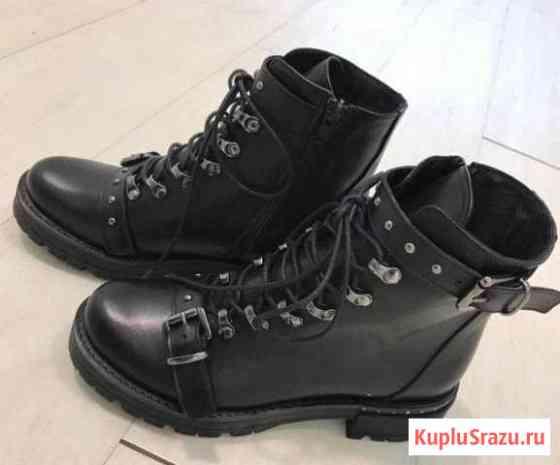 Зимние кожаные ботинки Уссурийск