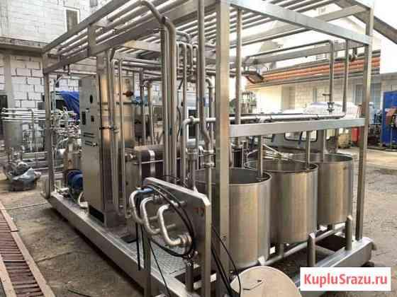 Мини цех переработки молока 2,5т\час Троицкое