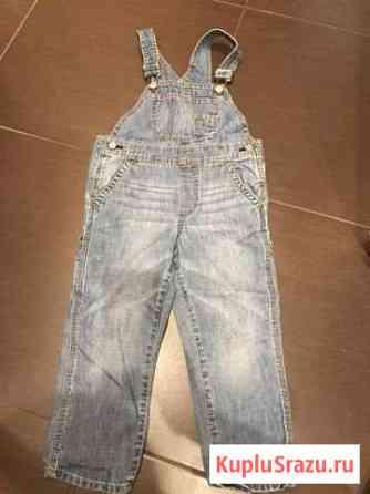Продам джинсовый комбенизон фирмы Gap на 4 года Ульяновск