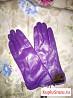 Перчатки кожаные новые