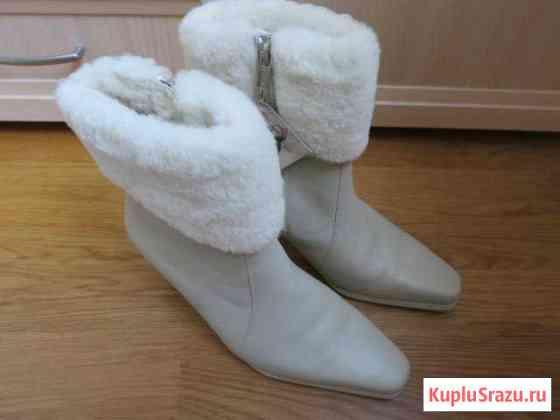 Новые зимние сапоги Janita Москва