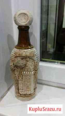 Бутылка керамическая коллекционная Москва