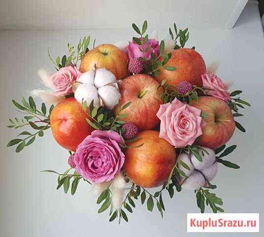 Букет из фруктов и цветов Люберцы