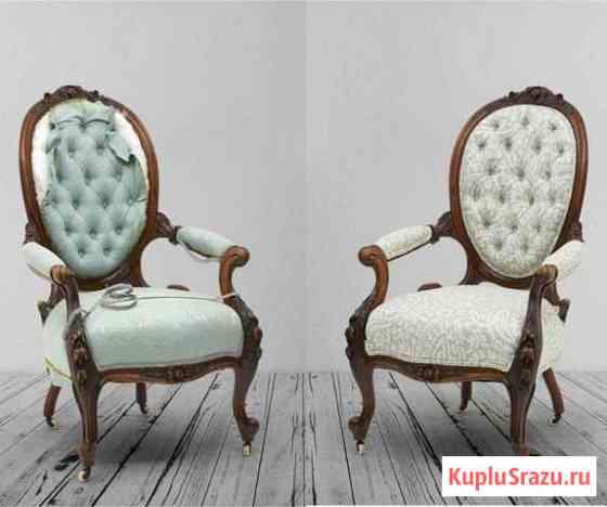 Перетяжка обивка дивана кровати мебели Подольск