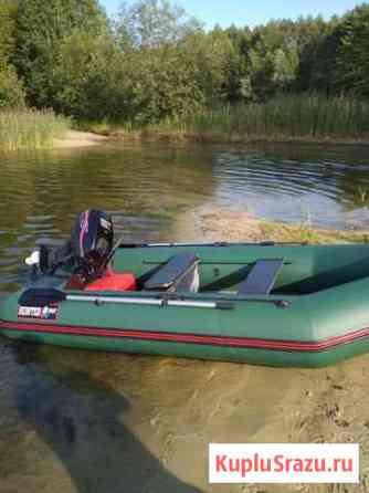 Лодка Хантер 320ск и мотор has 9.9 Ликино-Дулево