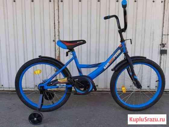 Велосипед детский maxxpro 20 синий новый Анапа