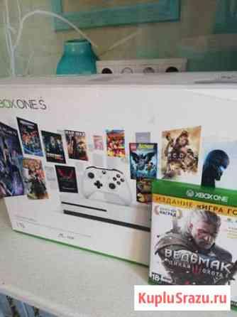 Xbox one s 1 tb белая Анапа