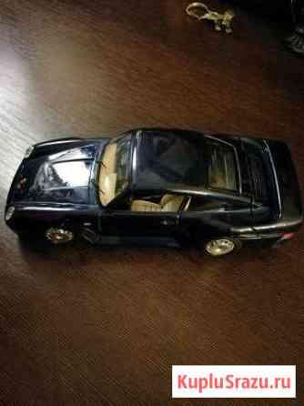 Машинка модель Porsche 959 1:24 Москва