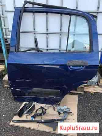 Дверь задняя левая Hyundai Getz Ржавки