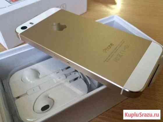 Айфон 5s на 32GB золотой с тач Руза
