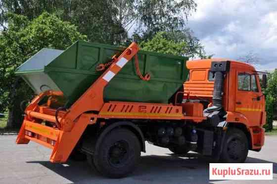 Вывоз мусора контейнером объемом 8 м3 по Мск и обл Балашиха
