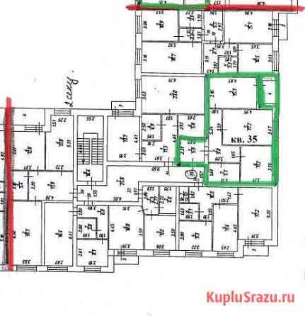 2-к квартира, 66.5 кв.м., 3/3 эт. Ликино-Дулево