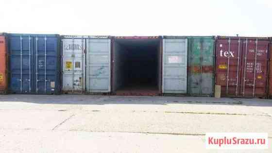 Склад контейнер 30 м. кв. 24/7, охрана, надежно Апрелевка