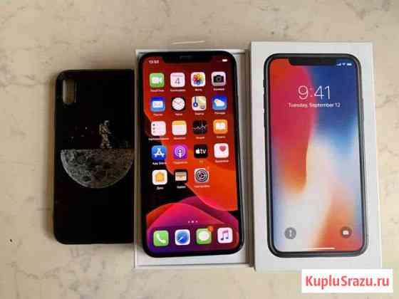 iPhone X 64gb как новый (продажа/обмен) Санкт-Петербург