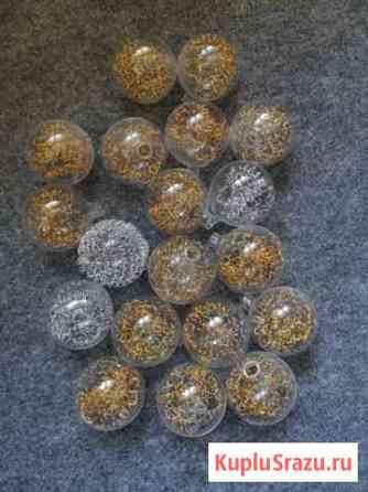 Стеклянные шары плафоны для люстры Домодедово