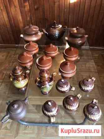 Посуда из керамики для запекания Белоозёрский