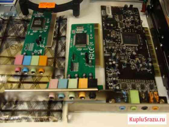 PCI звуковые карты Creative, C-Media Магнитогорск