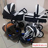 Новые коляски 4в1 экокожа