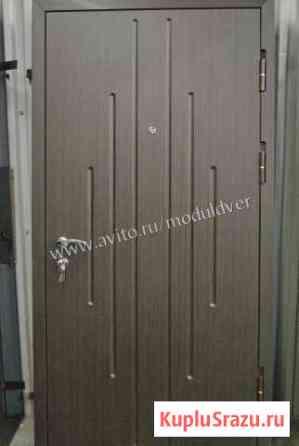 Дверь из стали 2 мм и двумя мдф панелями Реутов