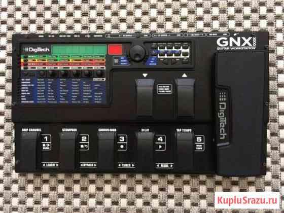 Digitech GNX3000 Гитарный процессор раб-ая станция Анапа