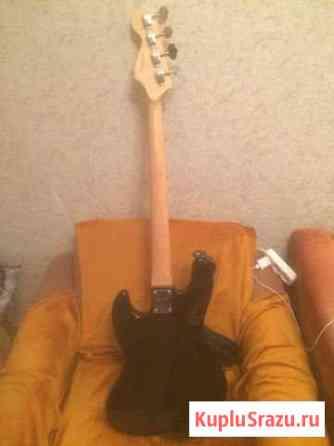 Fender squier affinity jazz bass (RW) black Знамя Октября