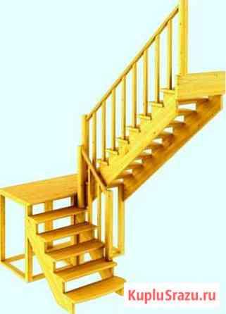 Деревянные лестницы с 1 на 2 этаж. Качество Дорохово