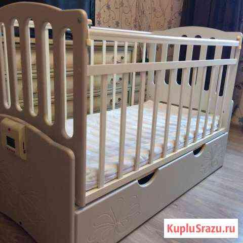Детская кроватка Daka baby Укачай-ка 03 Константиново