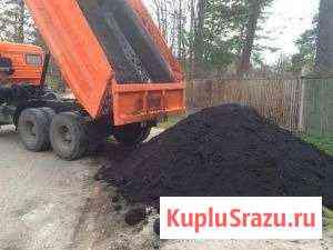 Чернозем пгс, песок, щебень, шлак Аша