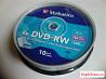 Диски DVD-RW Verbatim 4.7Gb Box (10 шт), новая