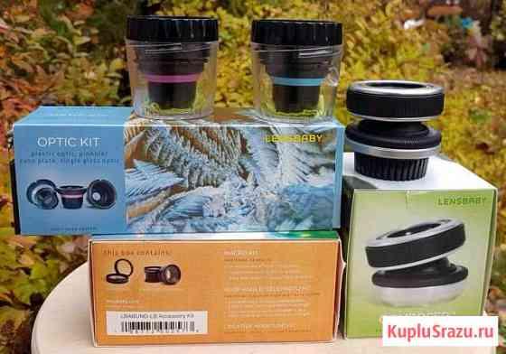 LensBaby Composer Nikon полный набор Андреевка