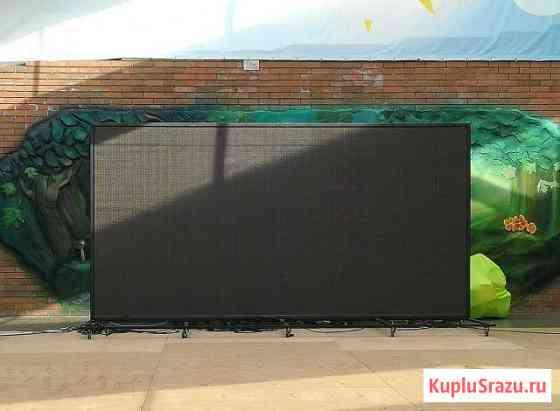 Светодиодный экран 2.88*3.84м. Всепогодный Сочи
