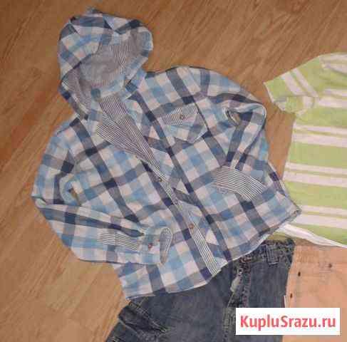 Рубашка на подкладке modis р. 140 Пушкин