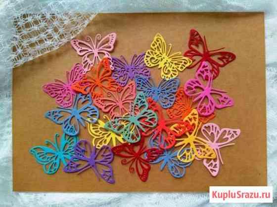Наборы вырубки: бабочки, стрекозы Пушкин