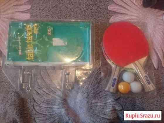 Сетка и ракетки для настольного тенниса Ломоносов
