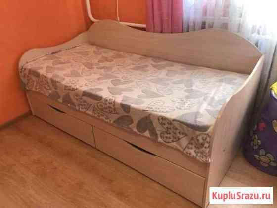 Детская кровать + матрас Анапа