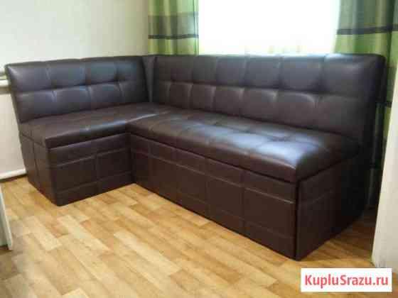 Кухонный диван угловой со спальным местом Анапа