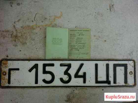 Техпаспорт с номерами Пластуновская