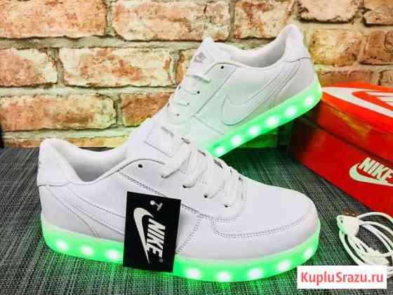 Кроссовки светящиеся Анапа