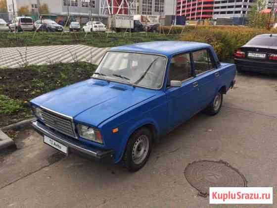 ВАЗ 2107 1.6МТ, 1991, седан Московский