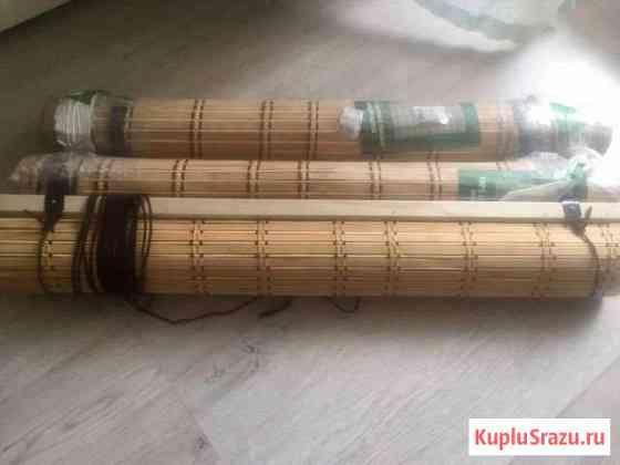Рулонные шторы бамбук Подольск