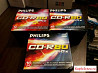Новые диски CD-R80 Philips