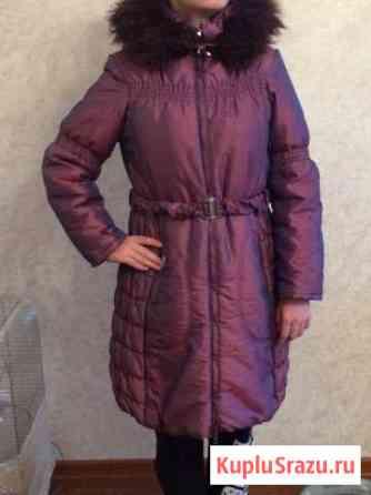 Пальто на девочку зимнее Лесной Городок
