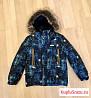 Куртка и полукомбинезон зимние для мальчика 122р